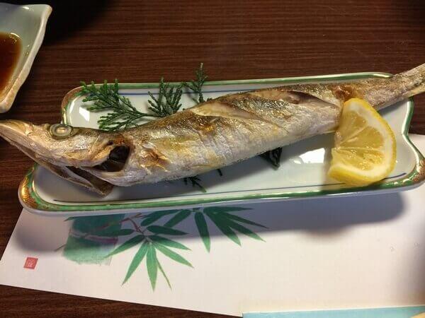 民宿なかよし焼き魚