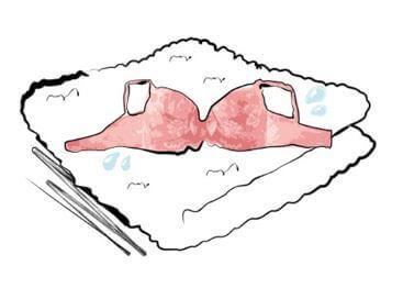 ブラジャーの洗い方4